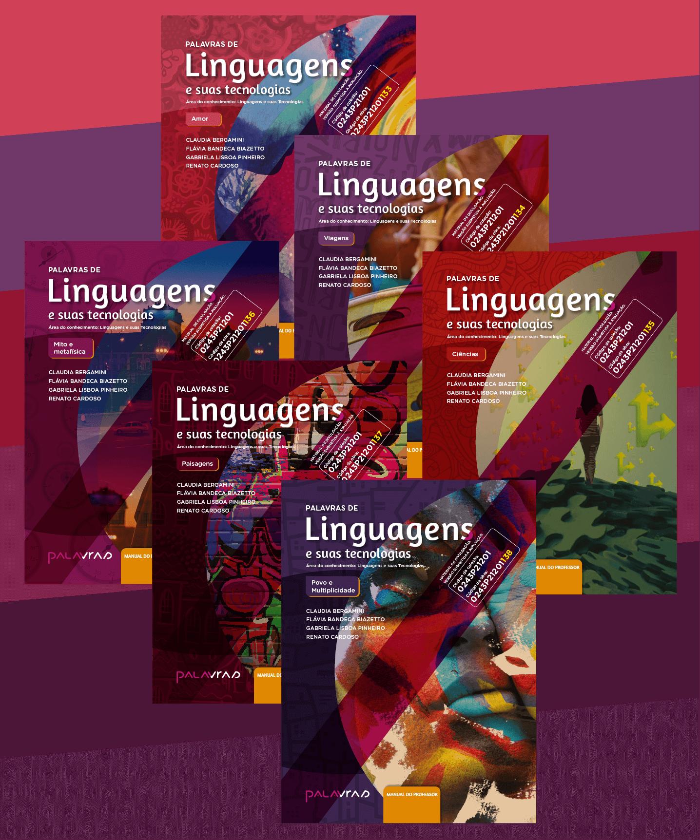 Coleção Palavras de Linguagens e Suas Tecnologias