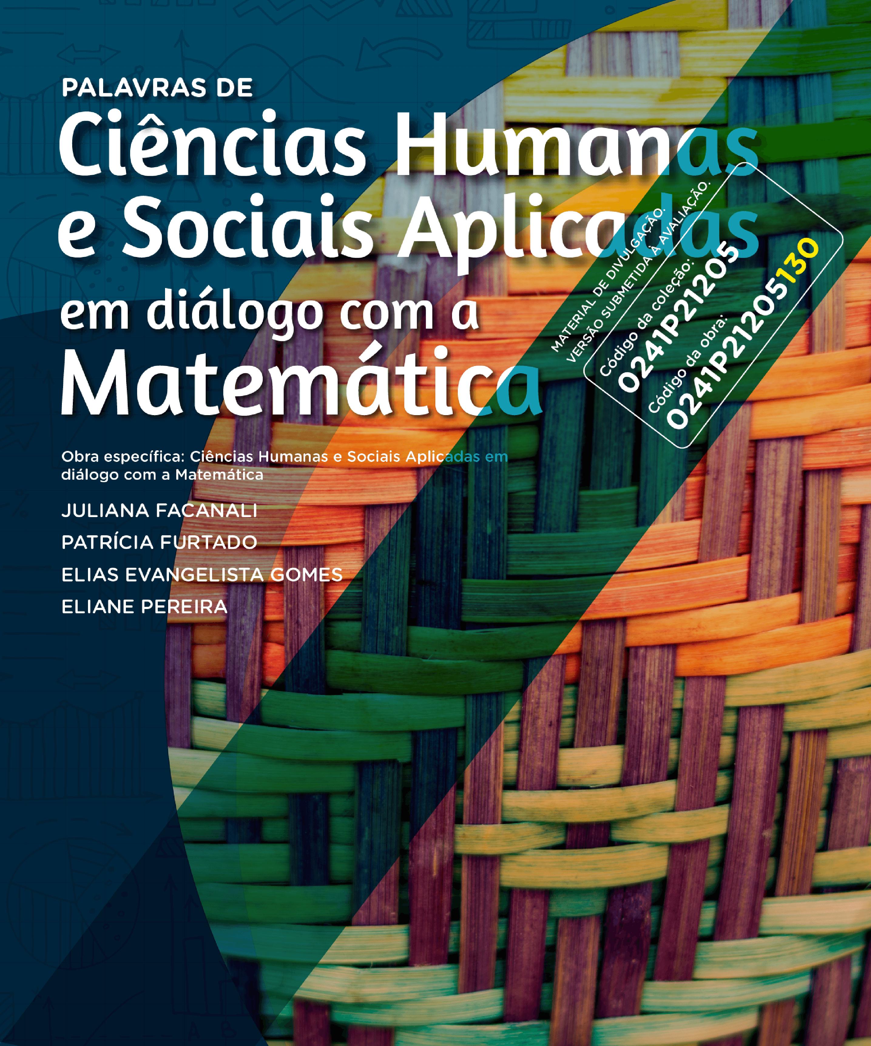Palavras de Ciências Humanas e Sociais Aplicadas em diálogo com a Matemática